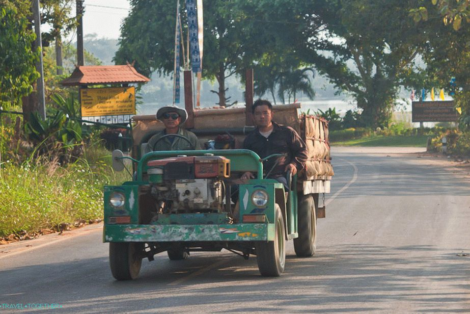 Transport u Chiang Saenu